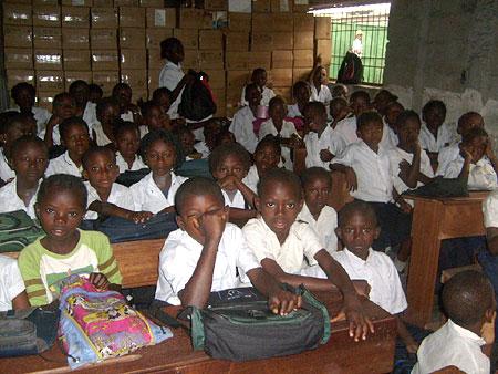 Les Ecoles du Coeur School classroom