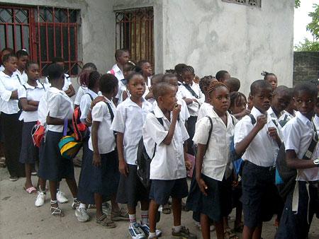 Les Ecoles du Coeur School primary class