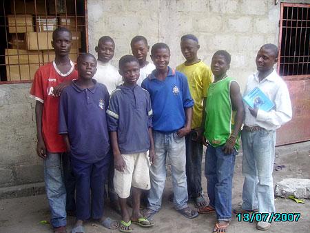 Les Ecoles du Coeur School students