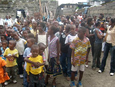 Christian Science Sunday School kids in Kinshasa